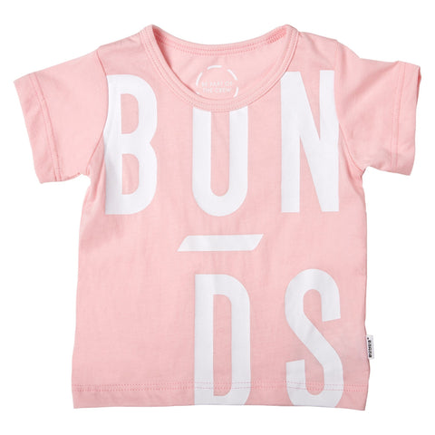 Bonds Baby The Crew Tee Logo Print Pink Baby Isbister & Co Wholesale