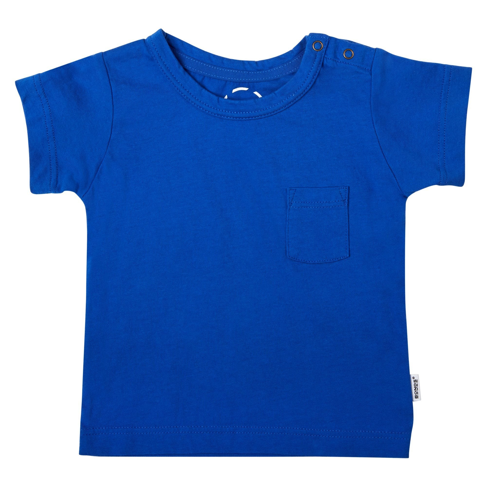 Bonds Baby Aussie Cotton Tee Blue Baby Isbister & Co Wholesale