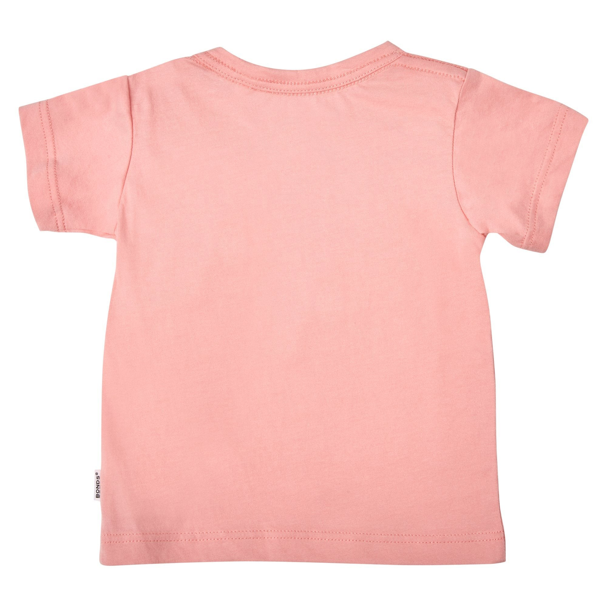 Bonds Baby Aussie Cotton Tee Pink Baby Isbister & Co Wholesale