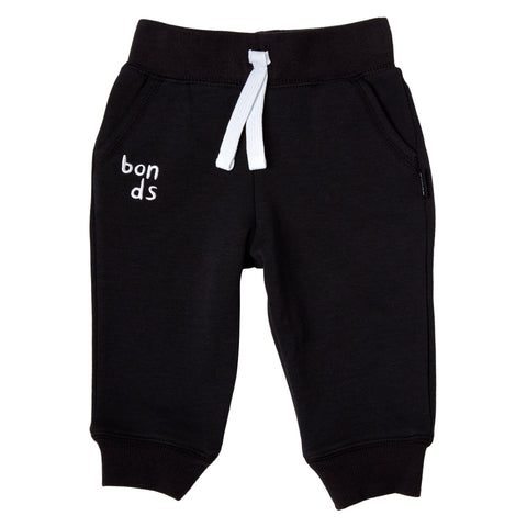 Bonds Baby Cool Sweats Trackie Black Baby Isbister & Co Wholesale