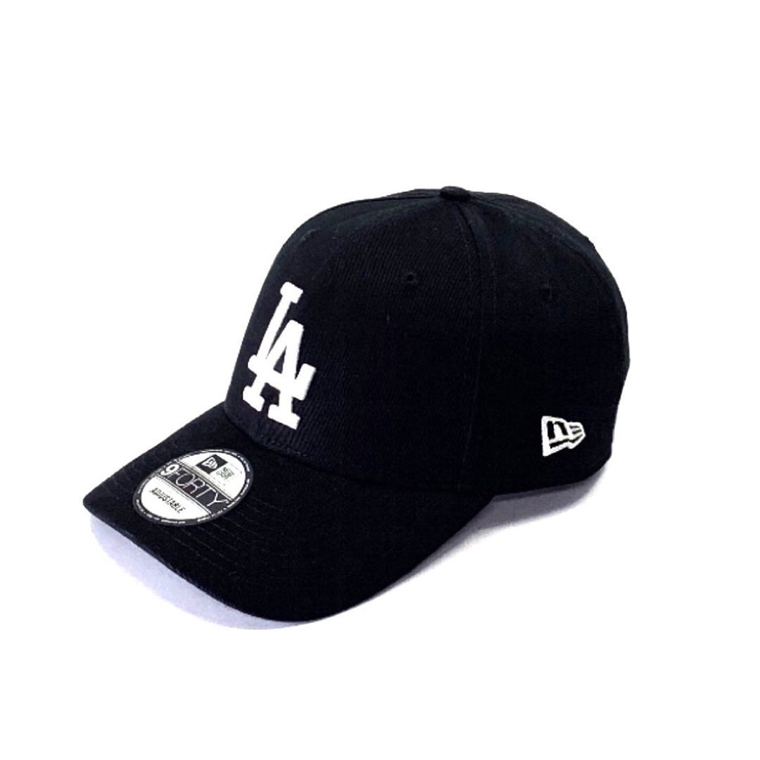 Los Angeles Dodgers Black 9FORTY Hats New Era