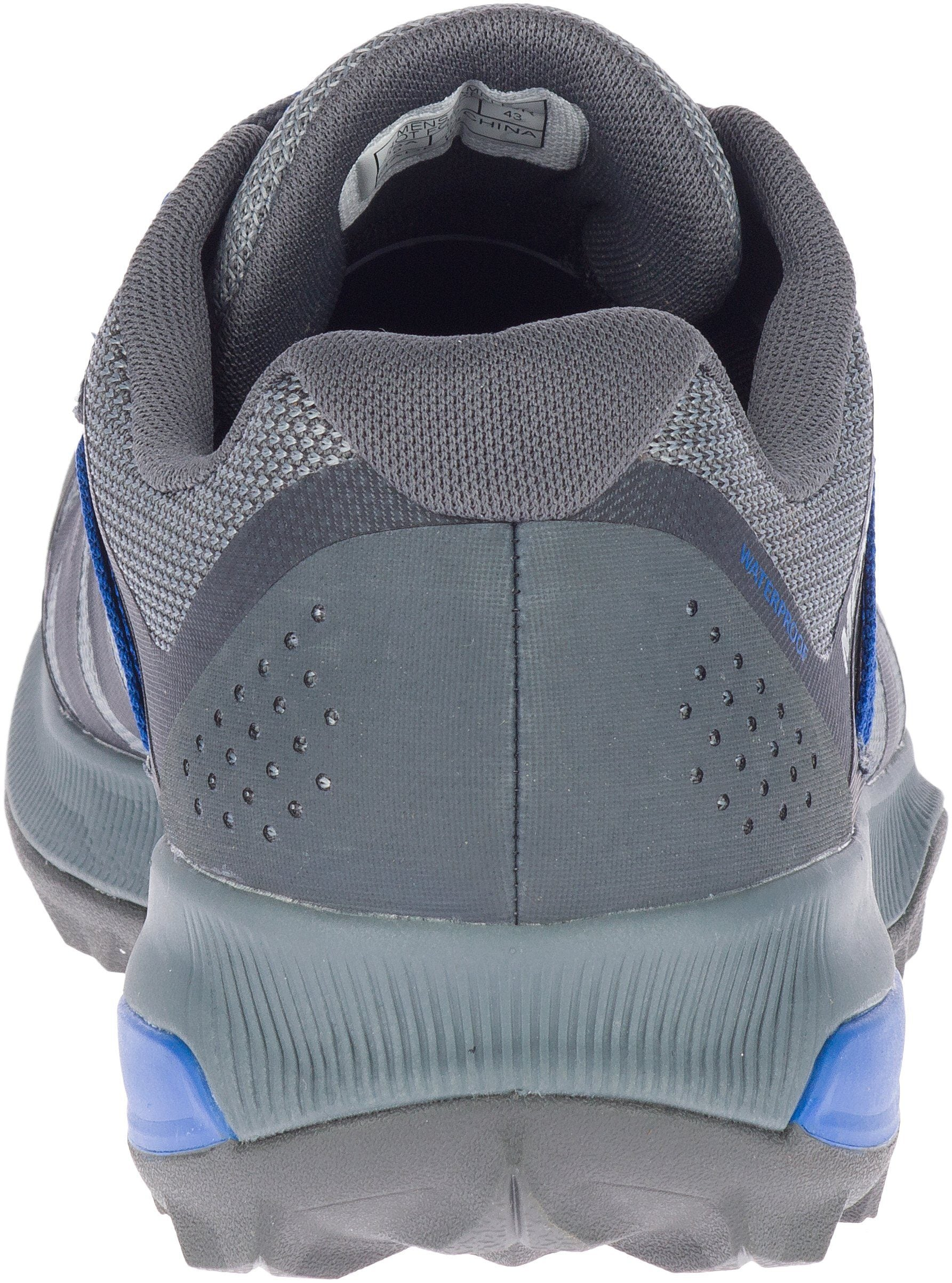 Merrell Men's Zion FST WP - Grey/Blue SP-Footwear-Mens Merrell