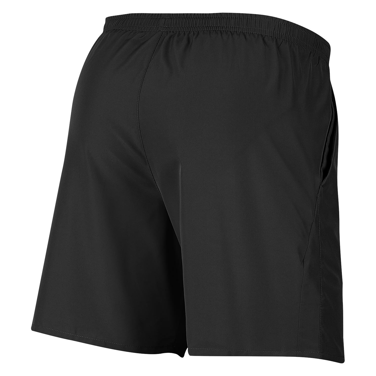 "Nike Mens Nike 7 Running Shorts"" - Black/Reflective Silv SP-ApparelShorts-Mens Nike"