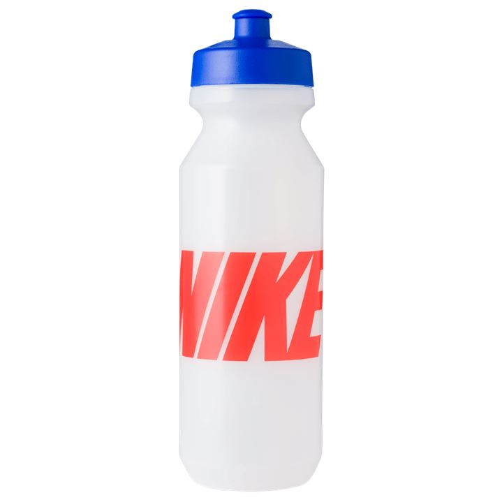 Nike Big Mouth Graphic Water Bottle 946ml - Clear/Game Royal/Team Orange SP-Accessories-DrinkBottles Nike