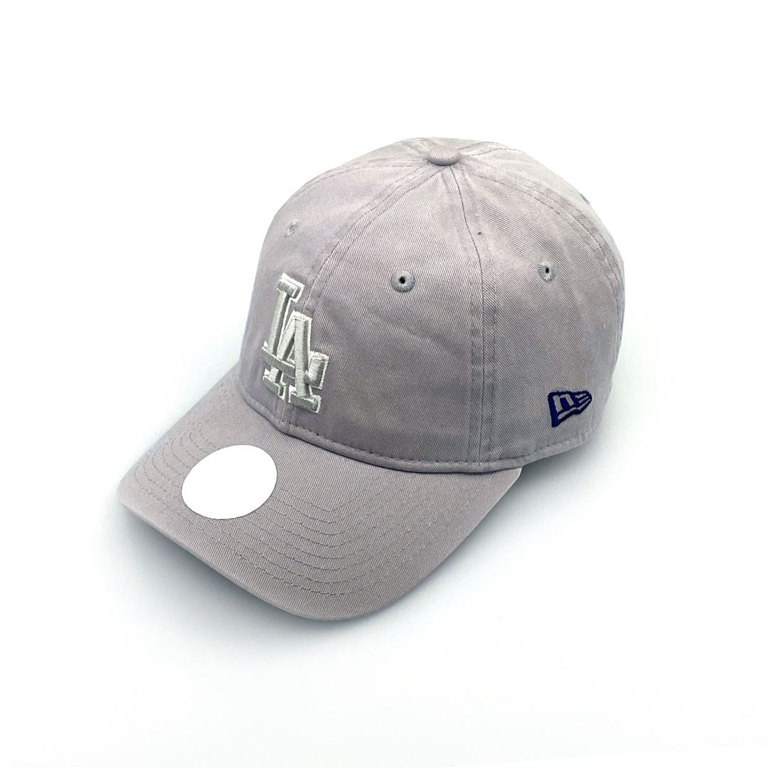 New Era Women's 9TWENTY LA Dodgers - Grey Wash SP-Headwear-Caps New Era