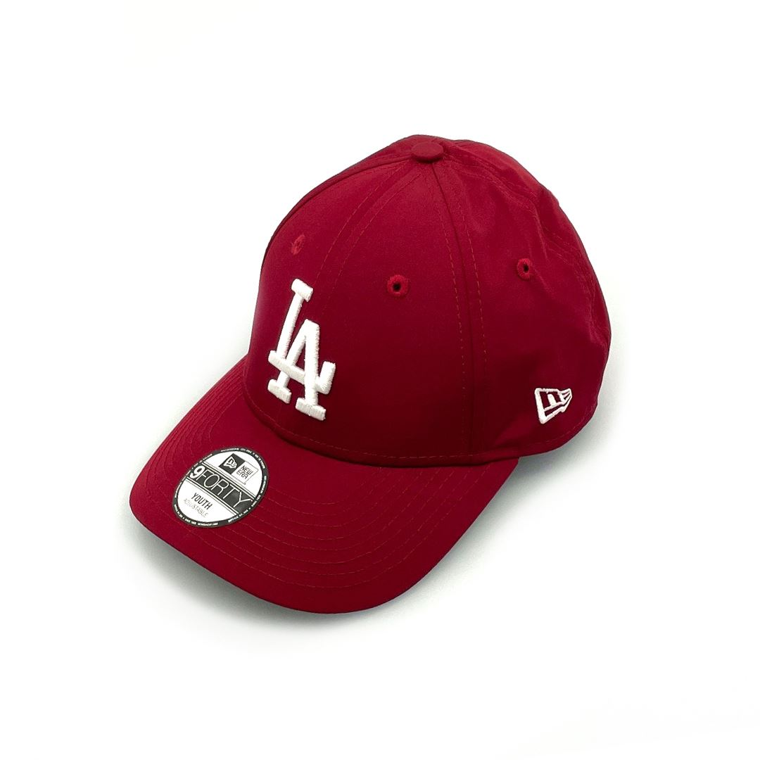 New Era Youth 9FORTY LA Dodgers - Cardinal Pro SP-Headwear-Caps New Era