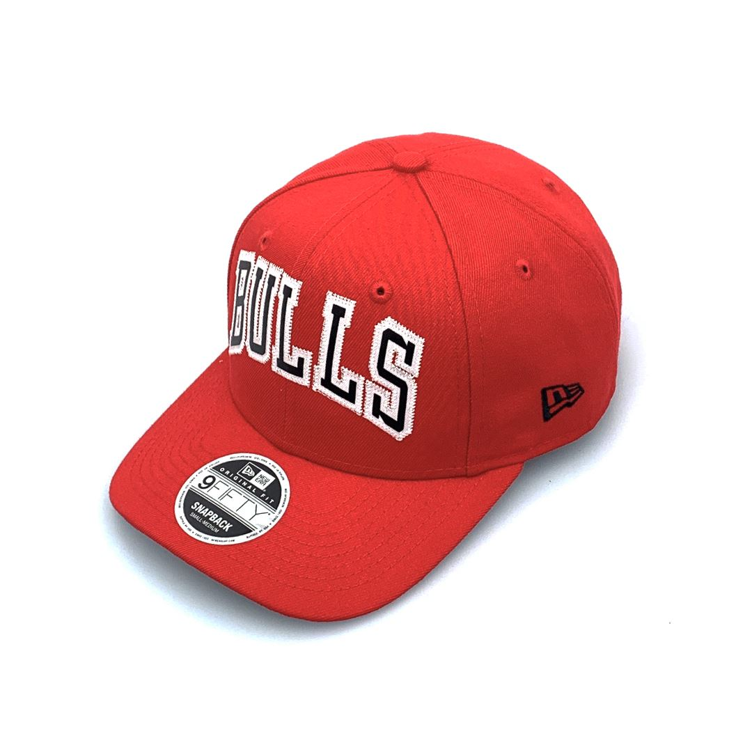 New Era 9FIFTY Original Fit Basketball Jersey - Chicago Bulls Red SP-Headwear-Caps New Era