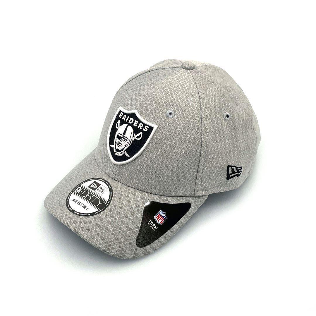 New Era 9FORTY Snap Oakland Raiders - Grey Hex SP-Headwear-Caps New Era