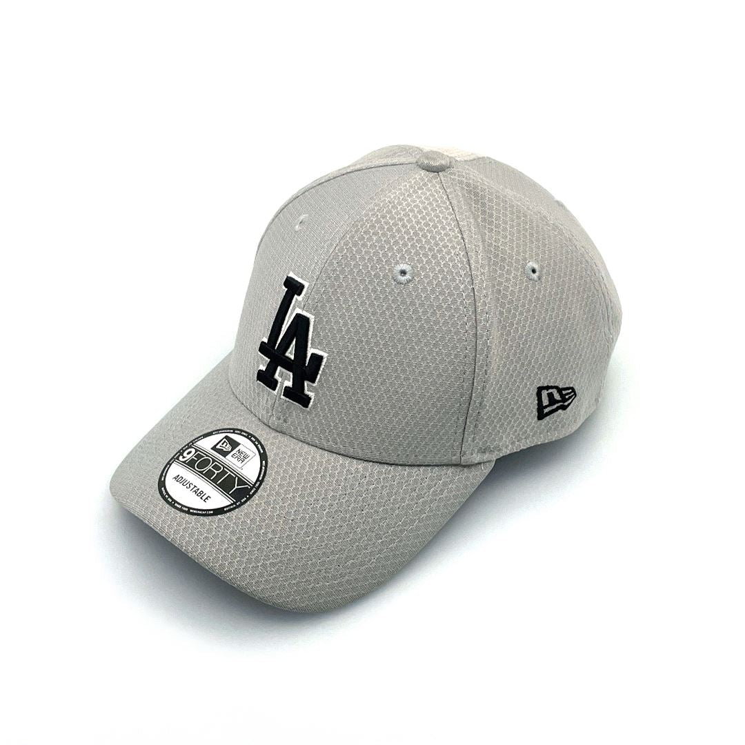 New Era 9FORTY Snap LA Dodgers - Grey Hex SP-Headwear-Caps New Era