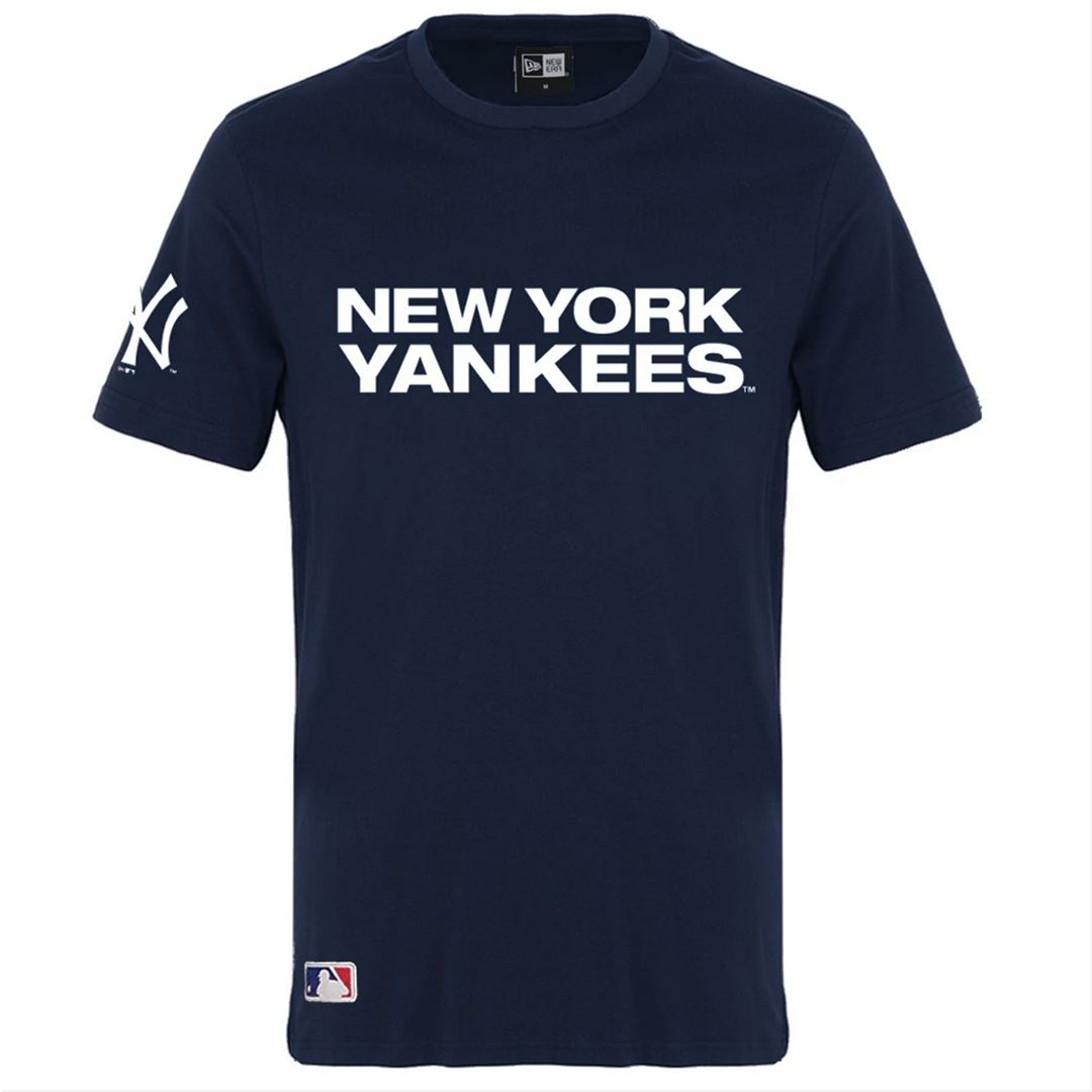 New Era MLB 100th Year Tee - New York Yankees (Navy) SP-ApparelTee-Mens New Era