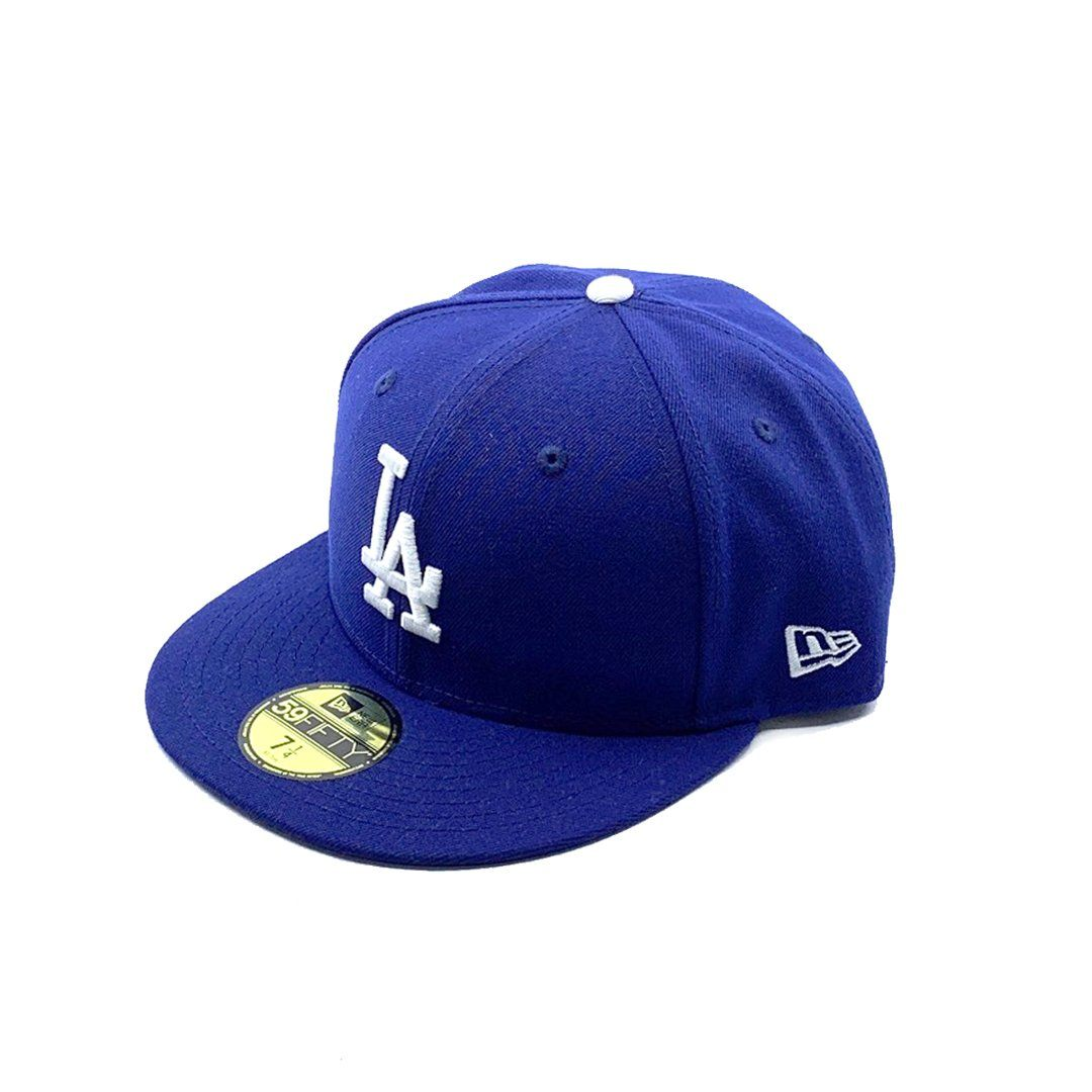 New Era 59Fifty Los Angeles Dodgers - Dark Royal SP-Headwear-Caps New Era