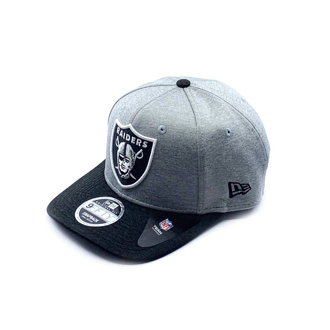 New Era 9FIFTY Double Shadow Pre-Curved - Oakland Raiders SP-Headwear-Caps New Era
