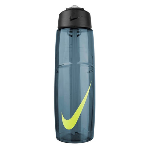 Nike T1 Flow Water Bottle 946ml - Squadron Blue/Volt SP-Accessories-DrinkBottles Nike