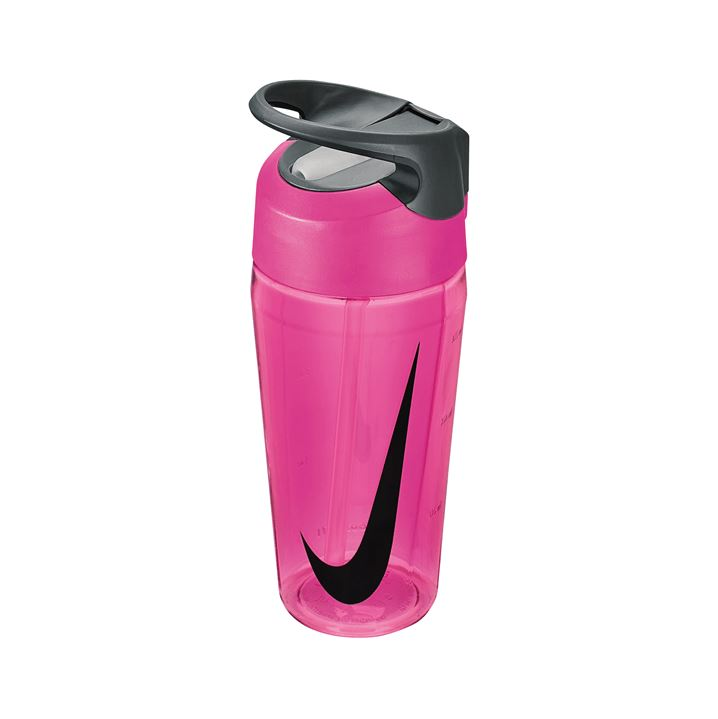 Nike Hypercharge Straw Bottle (473ml) - Vivid Pink/Cool Grey/Black SP-Accessories-DrinkBottles Nike