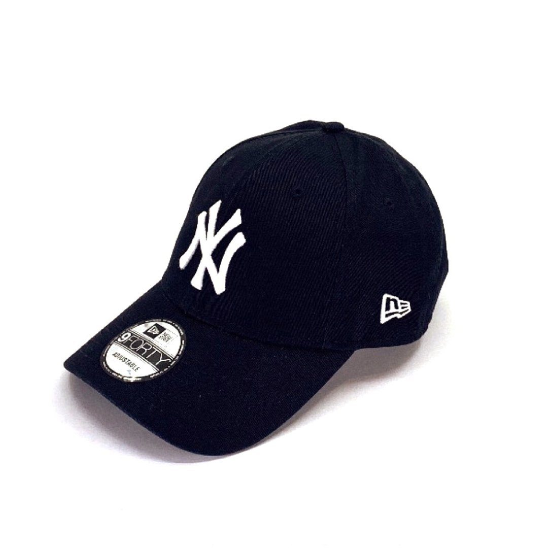 New York Yankees Black 9FORTY Hats New Era