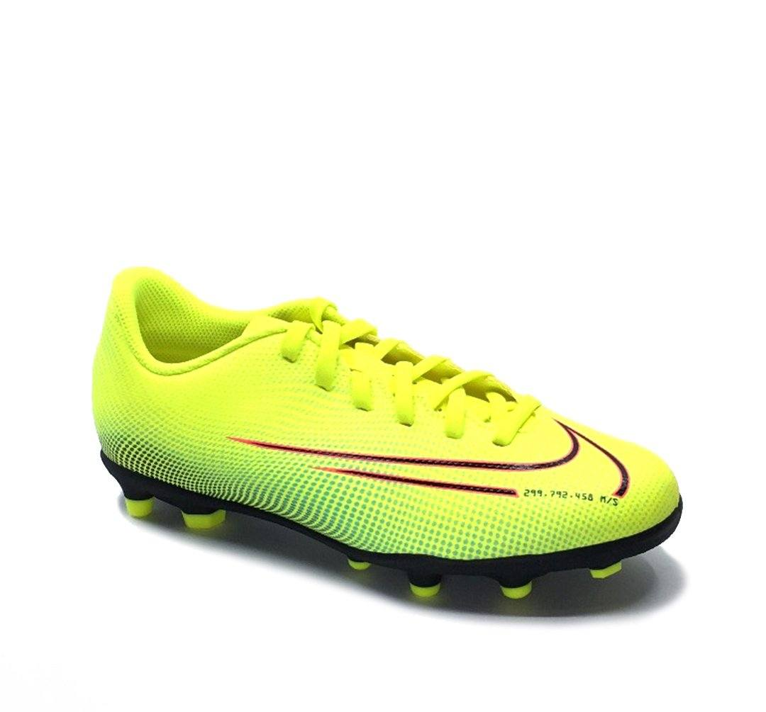 Nike Jr. Mercurial Vapor 13 Club MDS MG - Lemon Venom/Black-Aurora Green SP-Footwear-Kids Nike