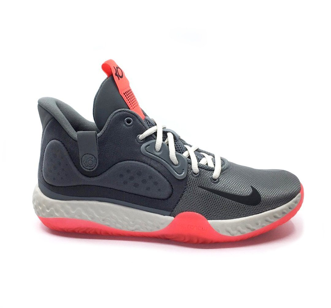 Nike KD Trey 5 VII Shoe - Smoke Grey/Black-Light Bone SP-Footwear-Mens Nike