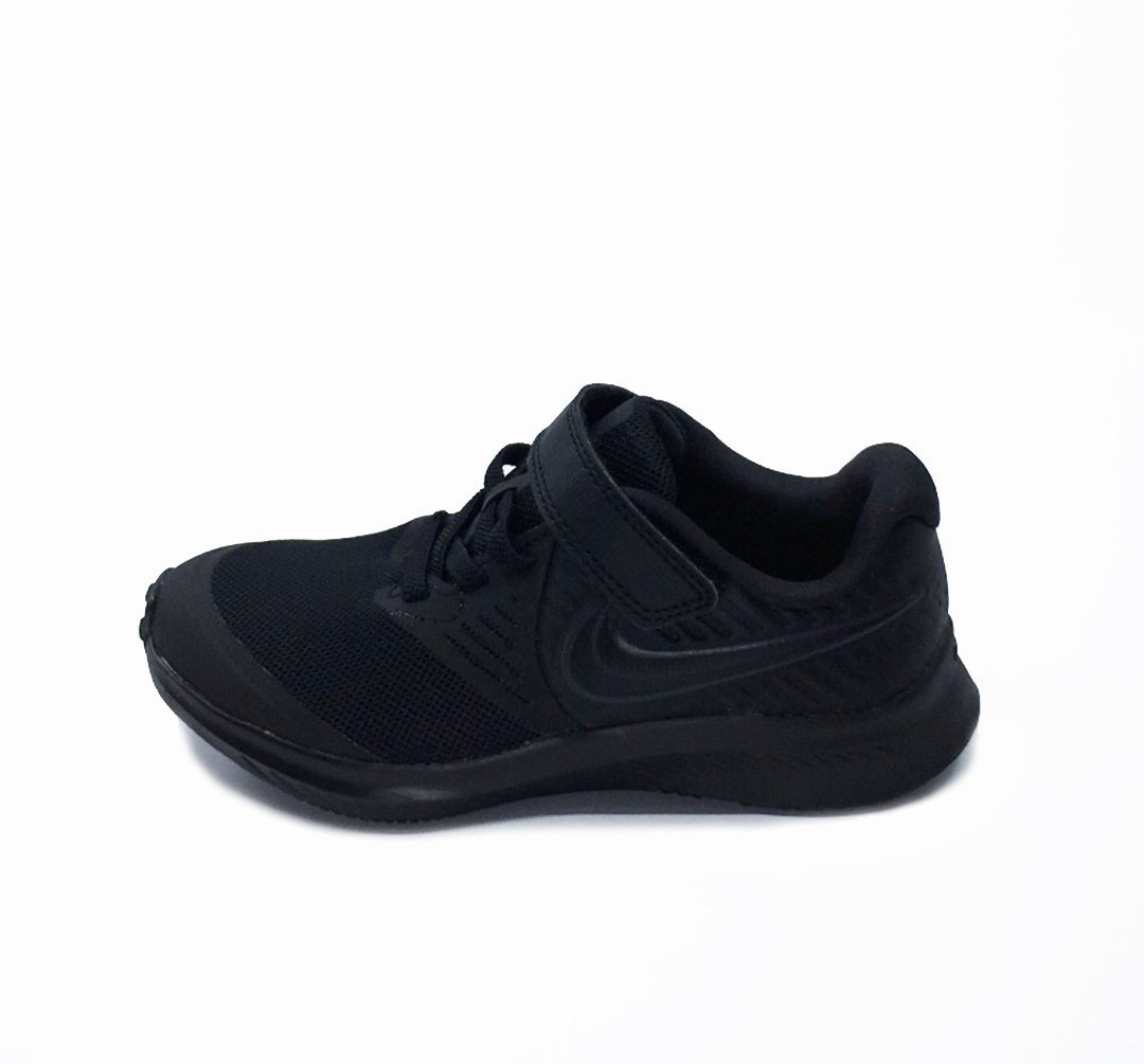 Nike Kids Star Runner 2 Little Kids Shoe - Black/Anthracite-Black-Volt SP-Footwear-Kids Nike