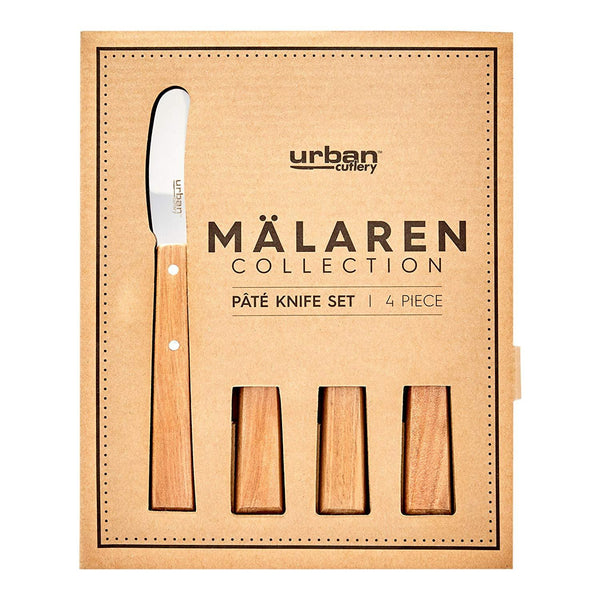 Malaren 4p Pate Knife Set - Wood Kitchenware Isbister & Co Wholesale