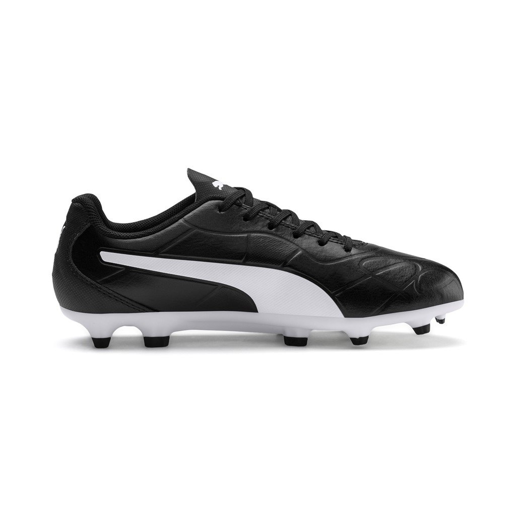 Monarch FG Jr Puma Black-Puma White SP-Footwear-Football-Kids Puma