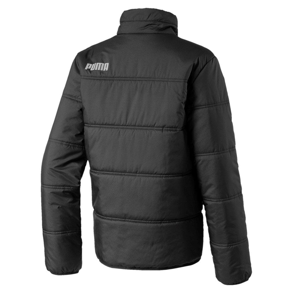 Puma Boys Essential Padded Jacket - Puma Black SP-ApparelJackets-KidsBoys Puma