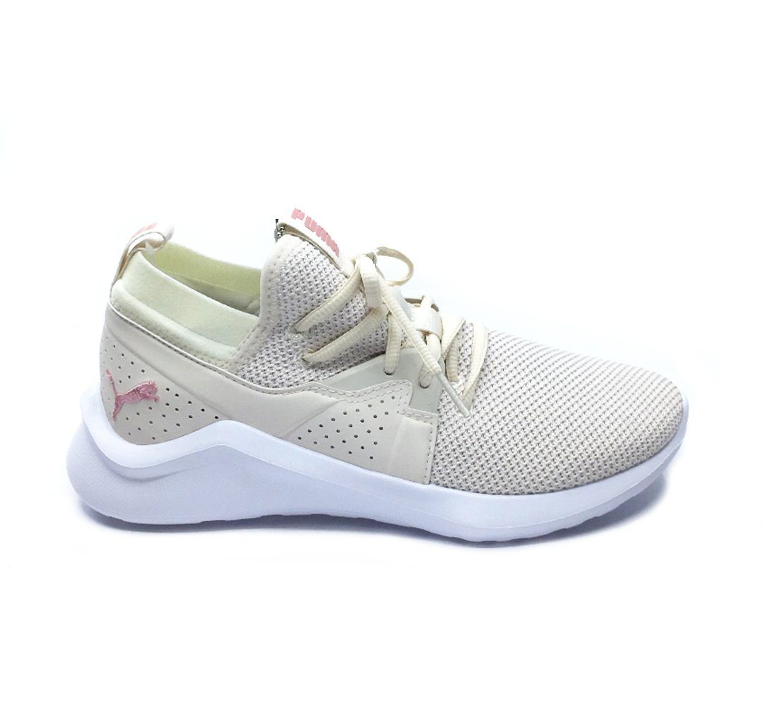 Puma Womens Emergence Running Shoes - Pastel Parchmen/Bridal Rose SP-Footwear-Womens Puma