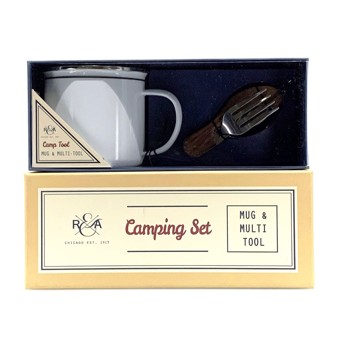 R&A Camping Tool And Mug Set Gifting SportsPower Geelong