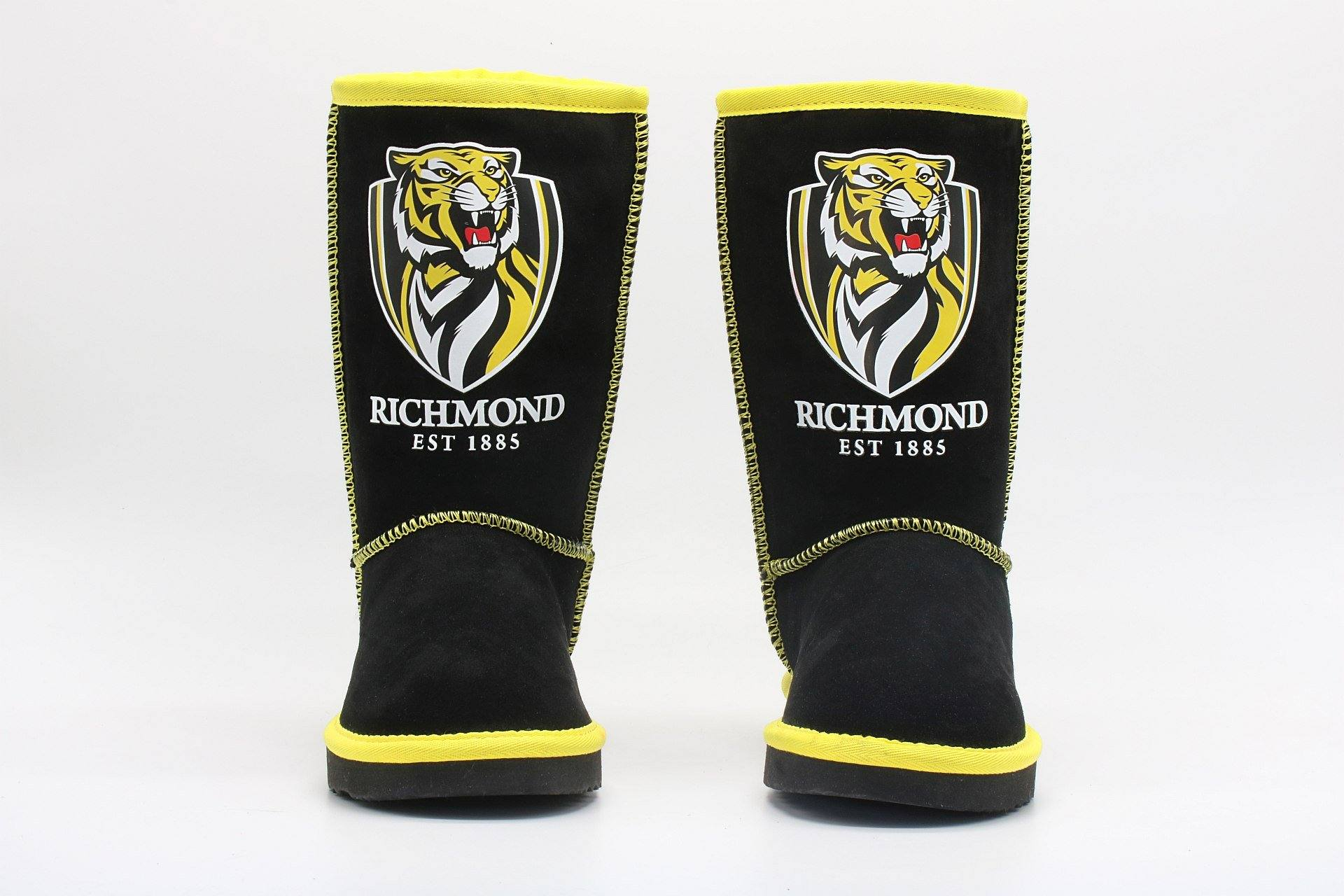 AFL Adult Ugg Boots - Richmond Tigers Footwear Team Uggs