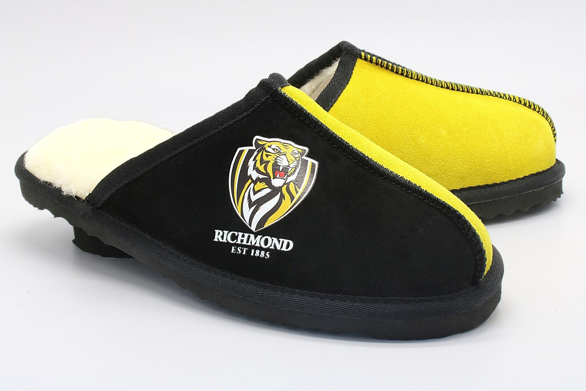 AFL Adults Slippers - Richmond Tigers Footwear Team Uggs