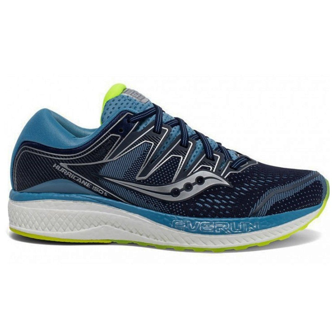 Saucony Women's Hurricane ISO 5 - Navy/Citroen SP-Footwear-Womens Saucony