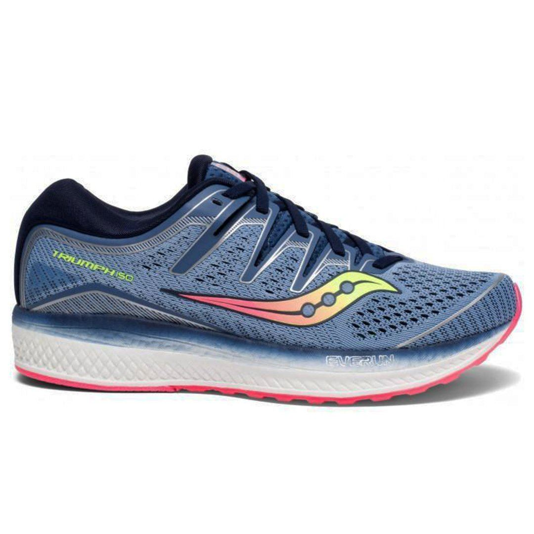Saucony Women Triumph ISO 5 - Blue/Navy SP-Footwear-Womens Saucony