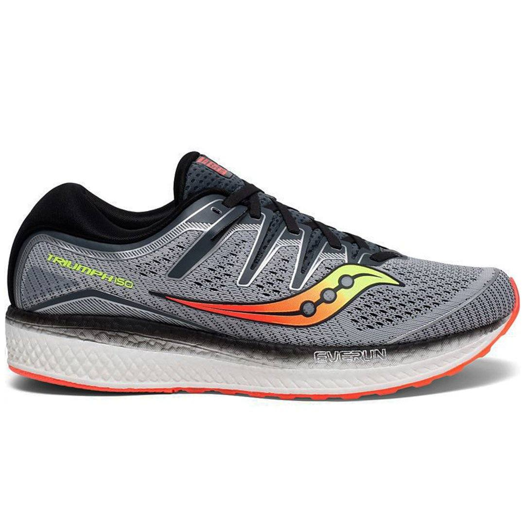 Saucony Men's Triumph ISO 5 - Grey/Black SP-Footwear-Mens Saucony