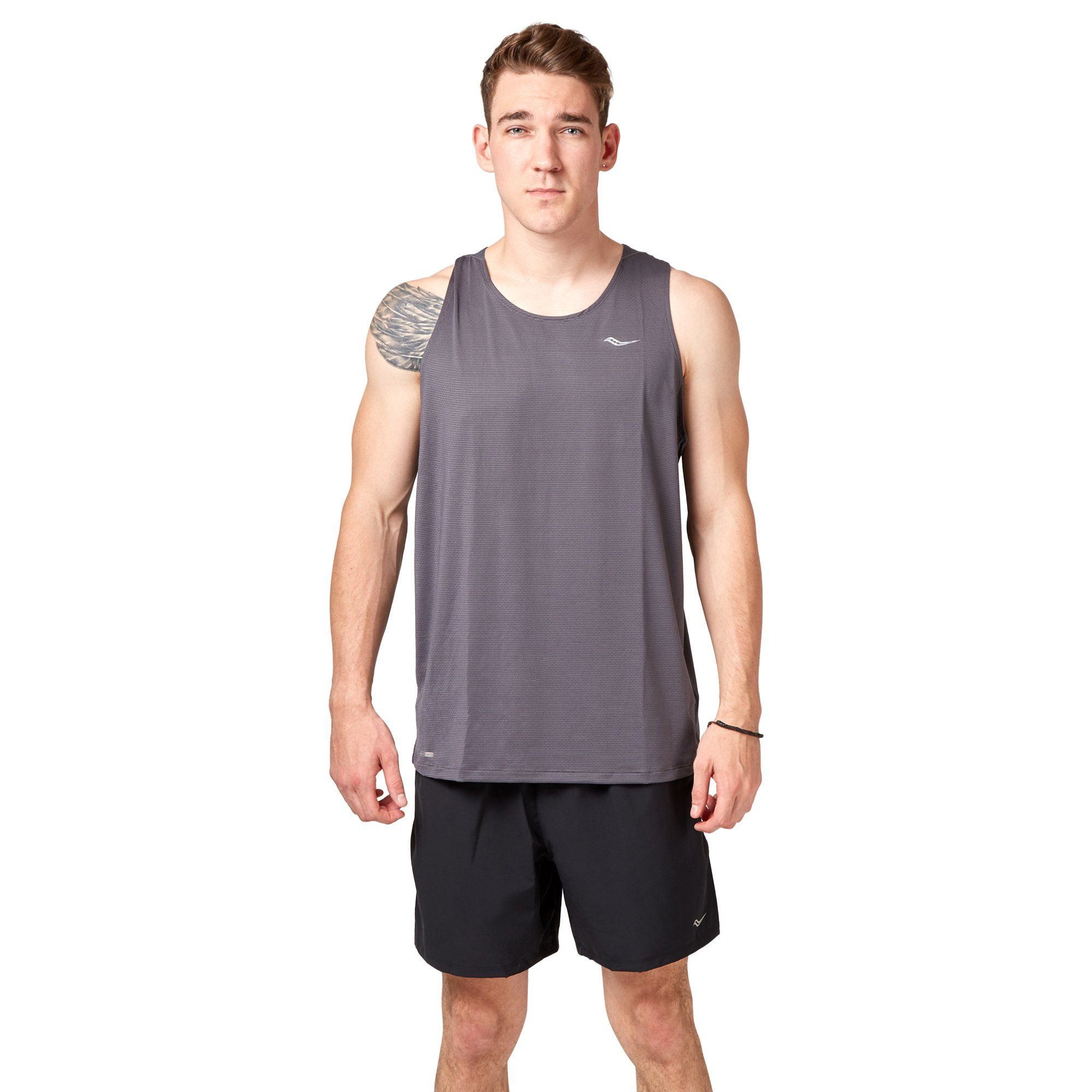 Saucony Speed of Light Singlet - Carbon Apparel Saucony