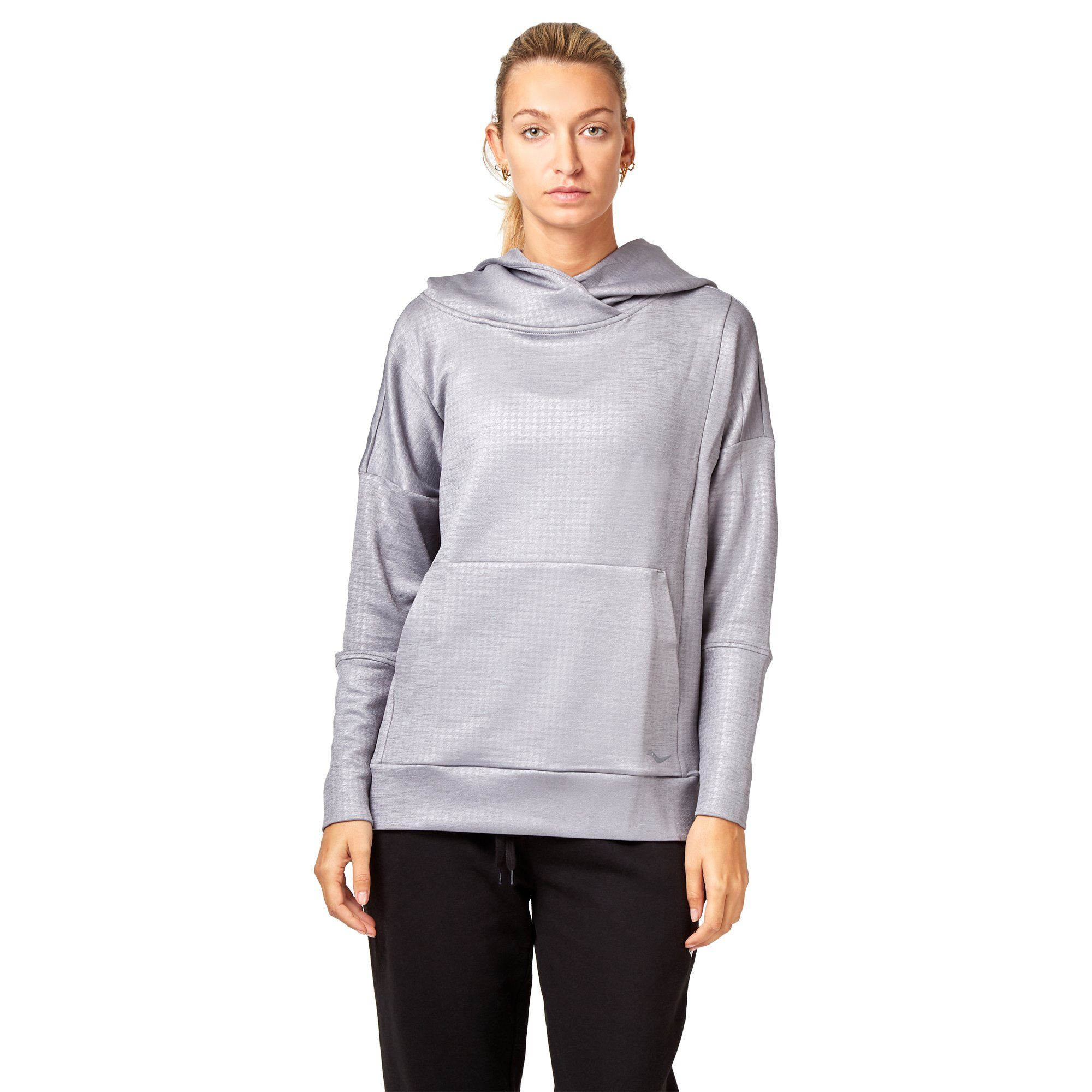 Saucony Uptown Hoodie - Dark Grey/ Heather Apparel Saucony