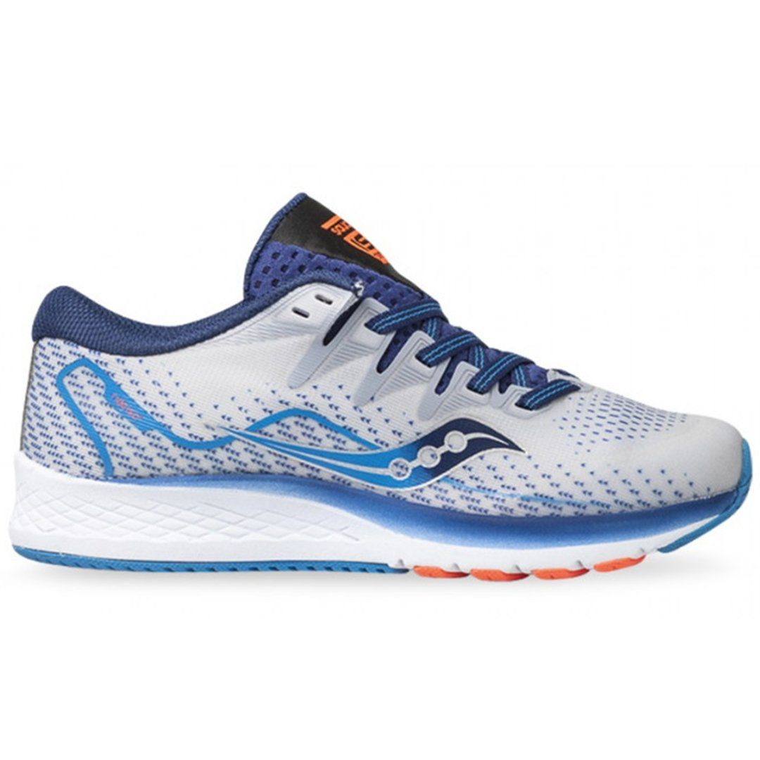 Saucony Kids S-Ride ISO 2 - Grey/Blue SP-Footwear-KidsBoys Saucony