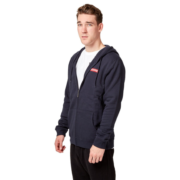 Saucony Badge FZ Hoodie - Navy Apparel Saucony