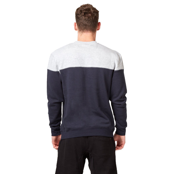 Saucony Badge Crew Sweat - Navy Apparel Saucony