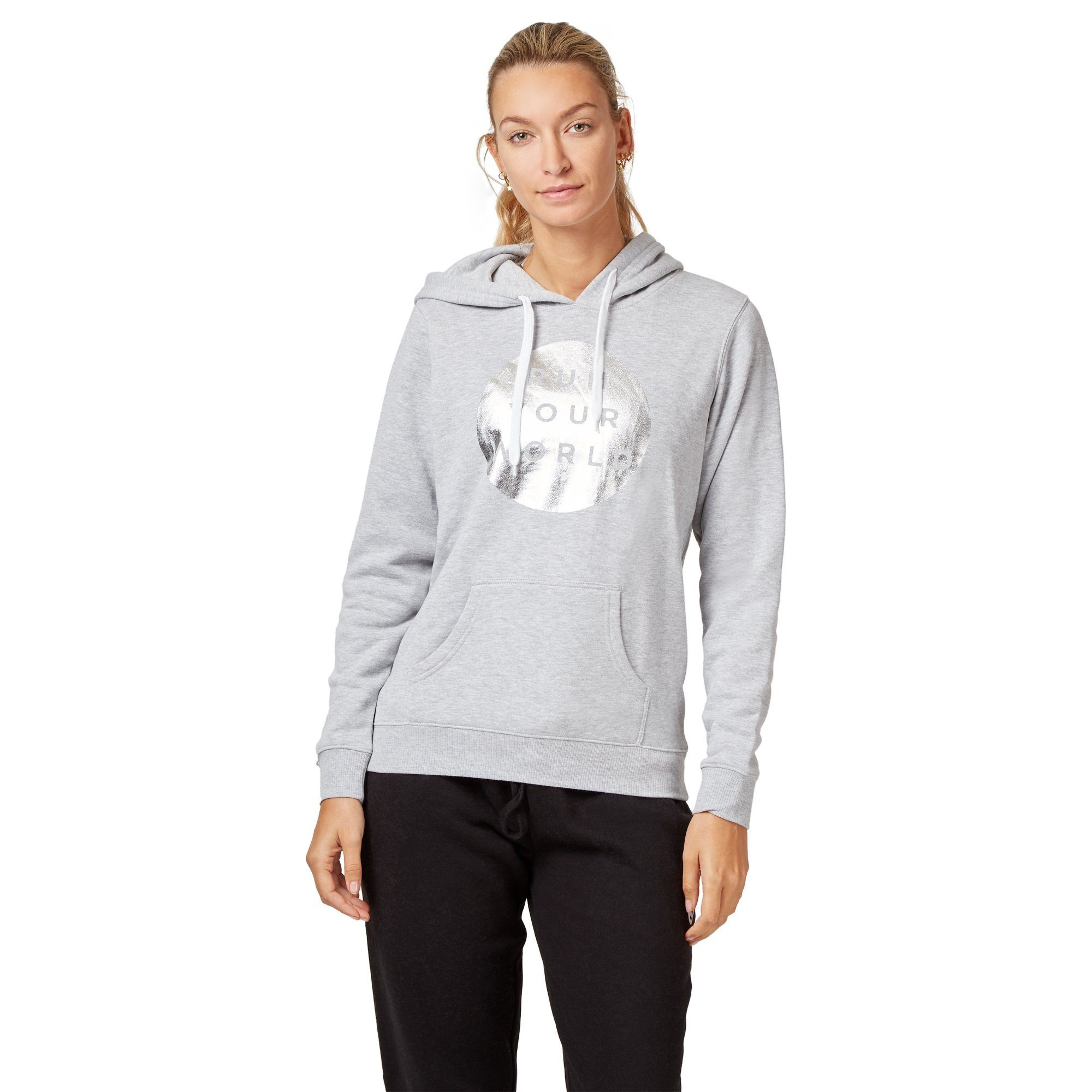 Saucony RYW Circle PO Hoodie - Grey Apparel Saucony