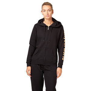 Saucony Run Your World Sleeve FZ Hoodie - Black Apparel Saucony