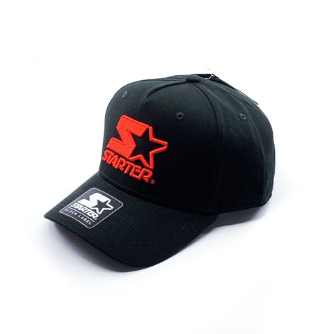 Starter Black Label Throwback Snapback - Black/Red SP- Headwear - Caps Starter Black Label