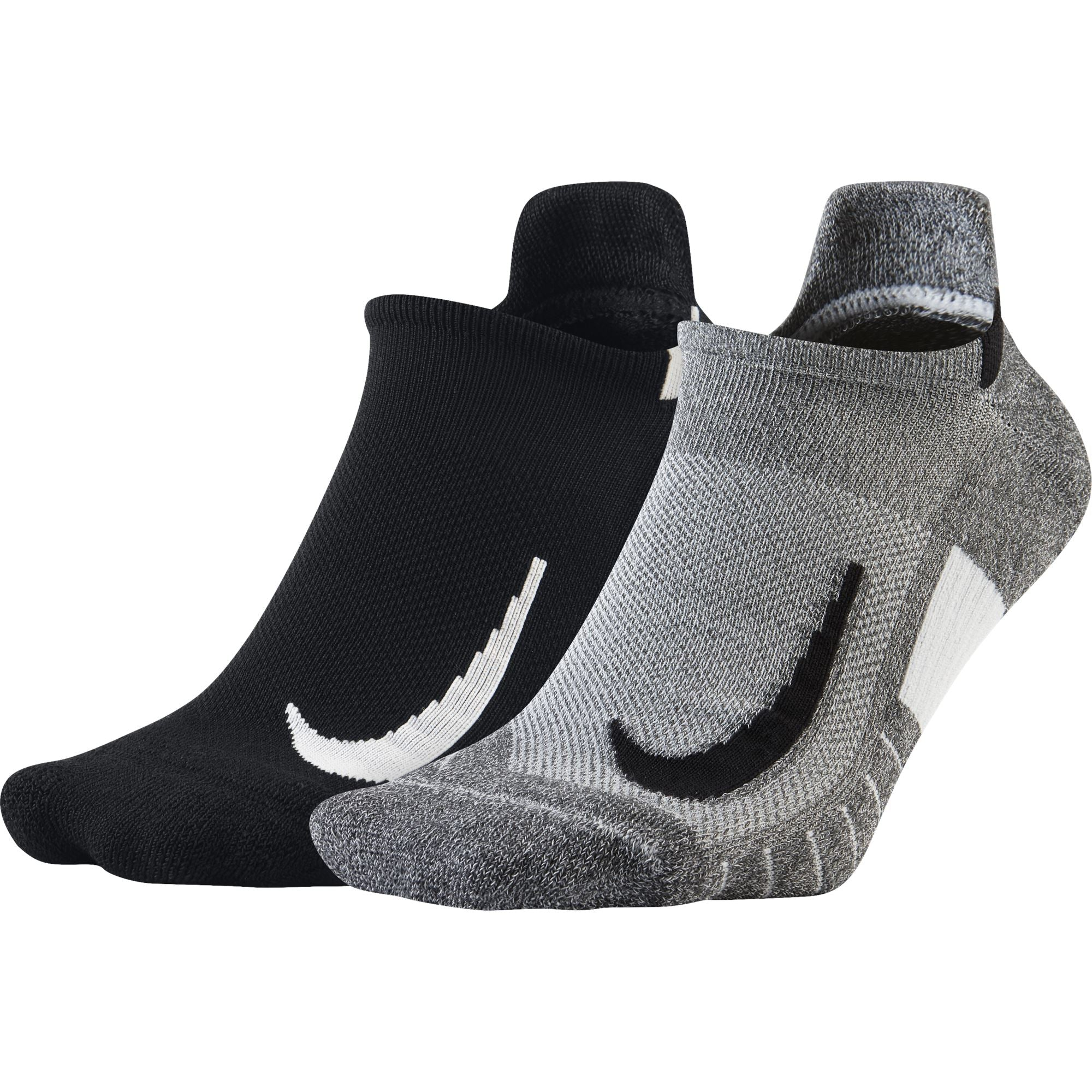 Nike Multiplier No-Show Running Socks - Multi-Color Socks Nike