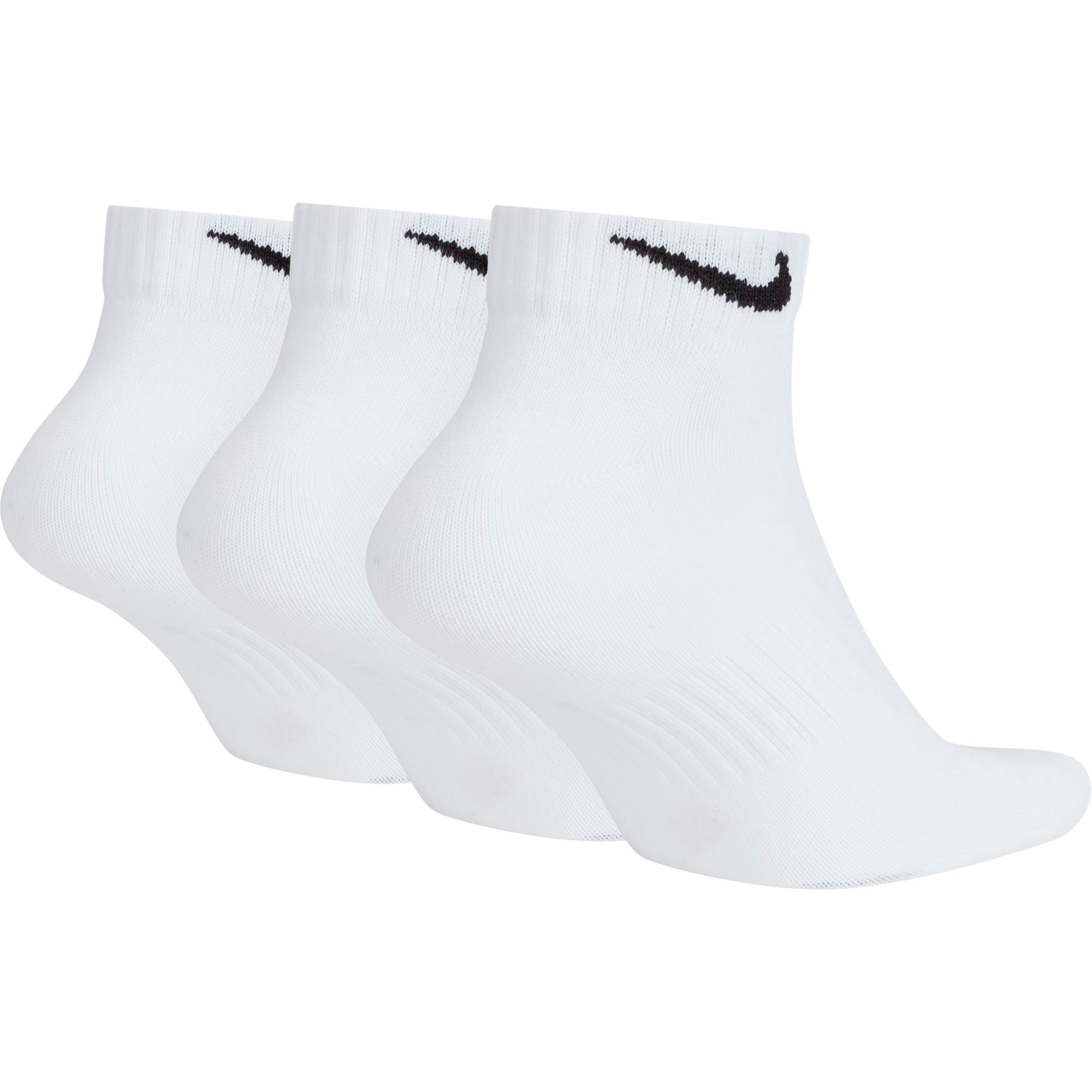 Nike Everyday Lightweight Low Socks - Black/White SP-ApparelSocks-Unisex Nike