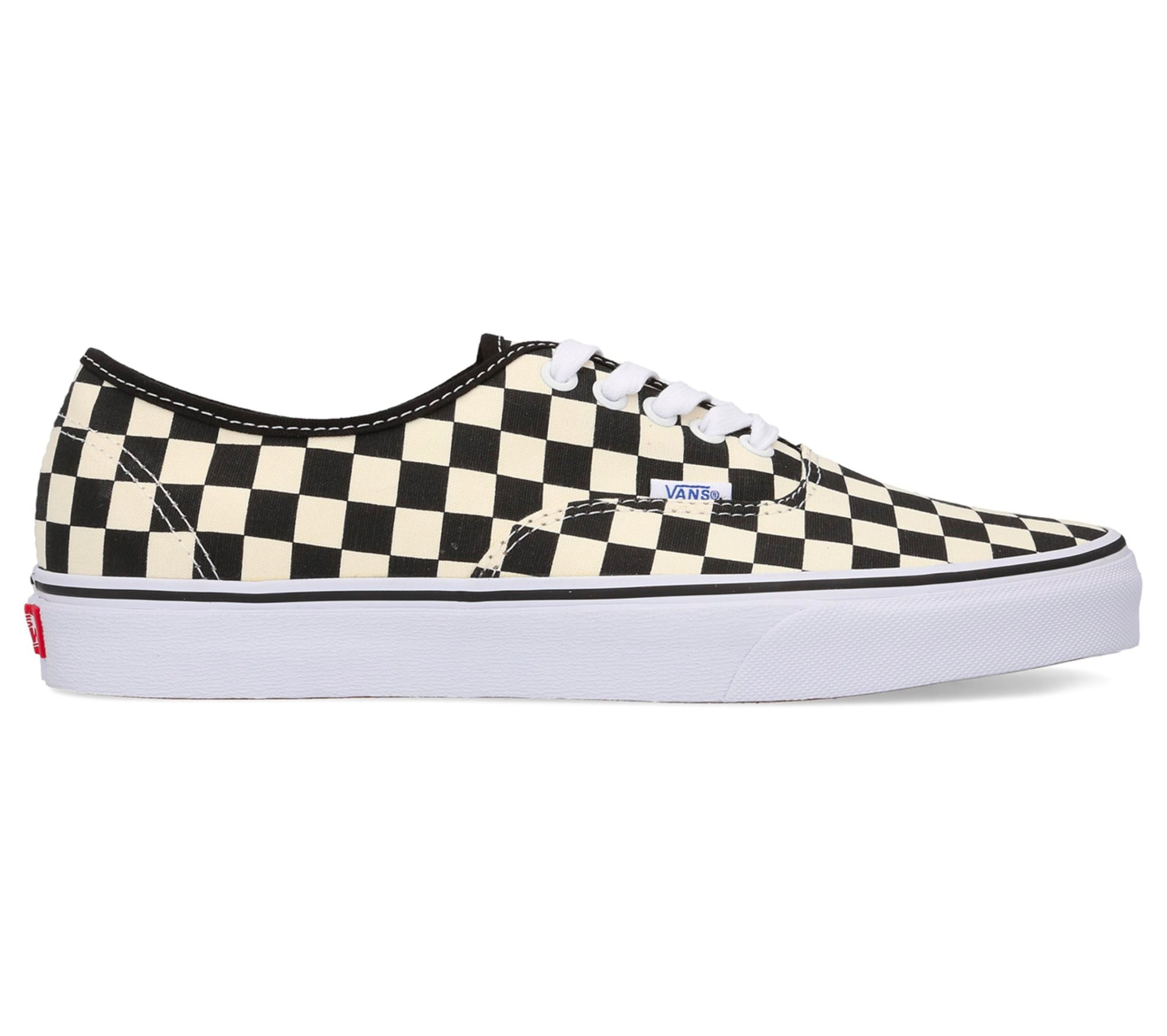 Vans Men's Doheny Checkerboard Shoes - Black/Classic White SP-Footwear-Mens Vans
