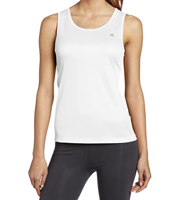 Champion Outerwear Women's Essential Tank - White SP-ApparelTanks-Womens Champion