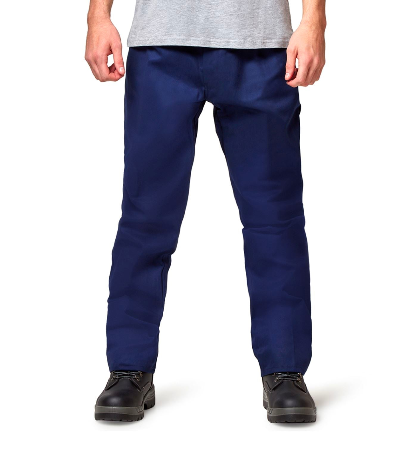 Hard Yakka Foundations Drill Pant - Navy Workwear Hard Yakka