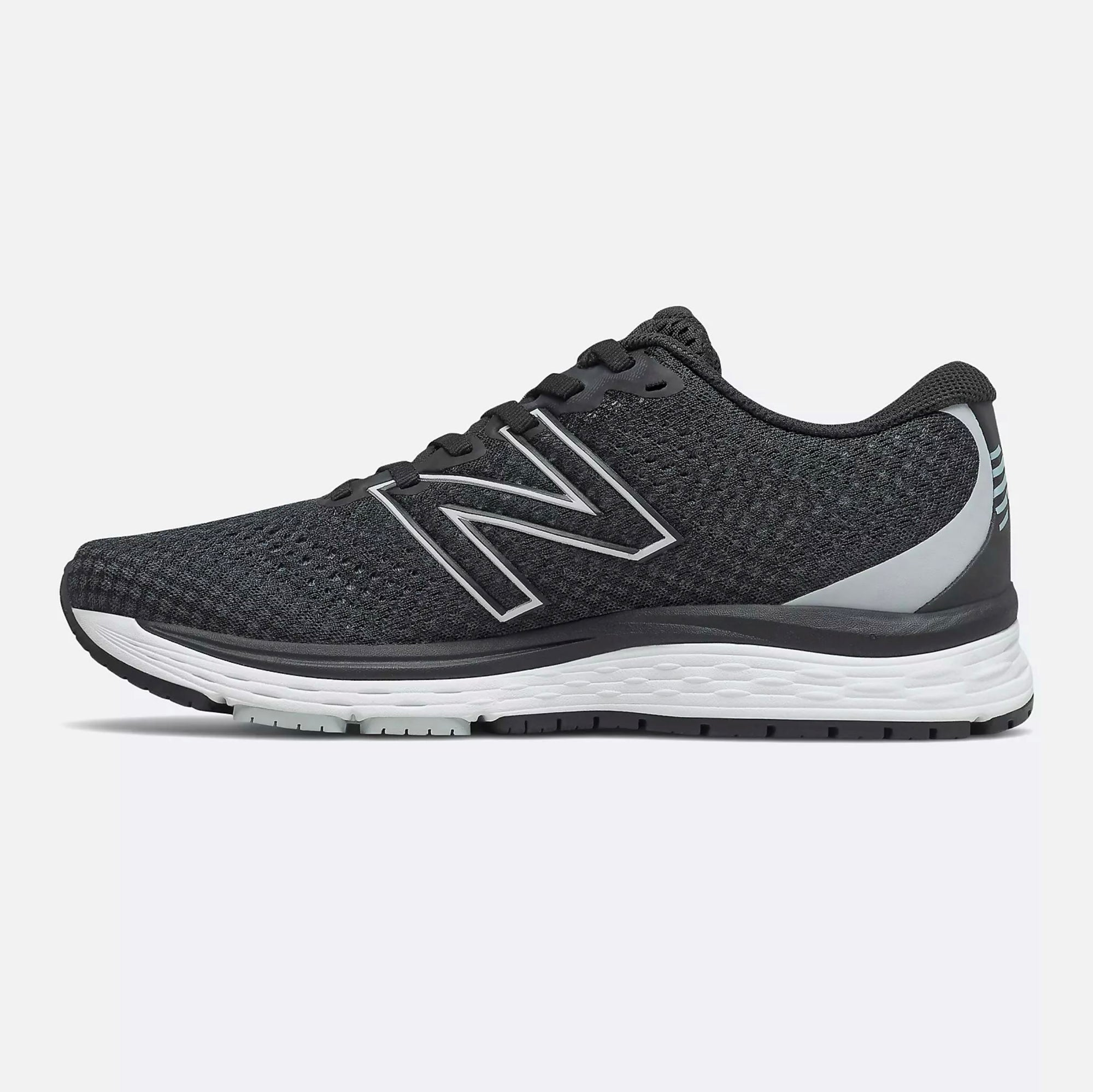 New Balance Women's Solvi v3 Running Shoe - Black/Light Cyclone SP-Footwear-Womens New Balance