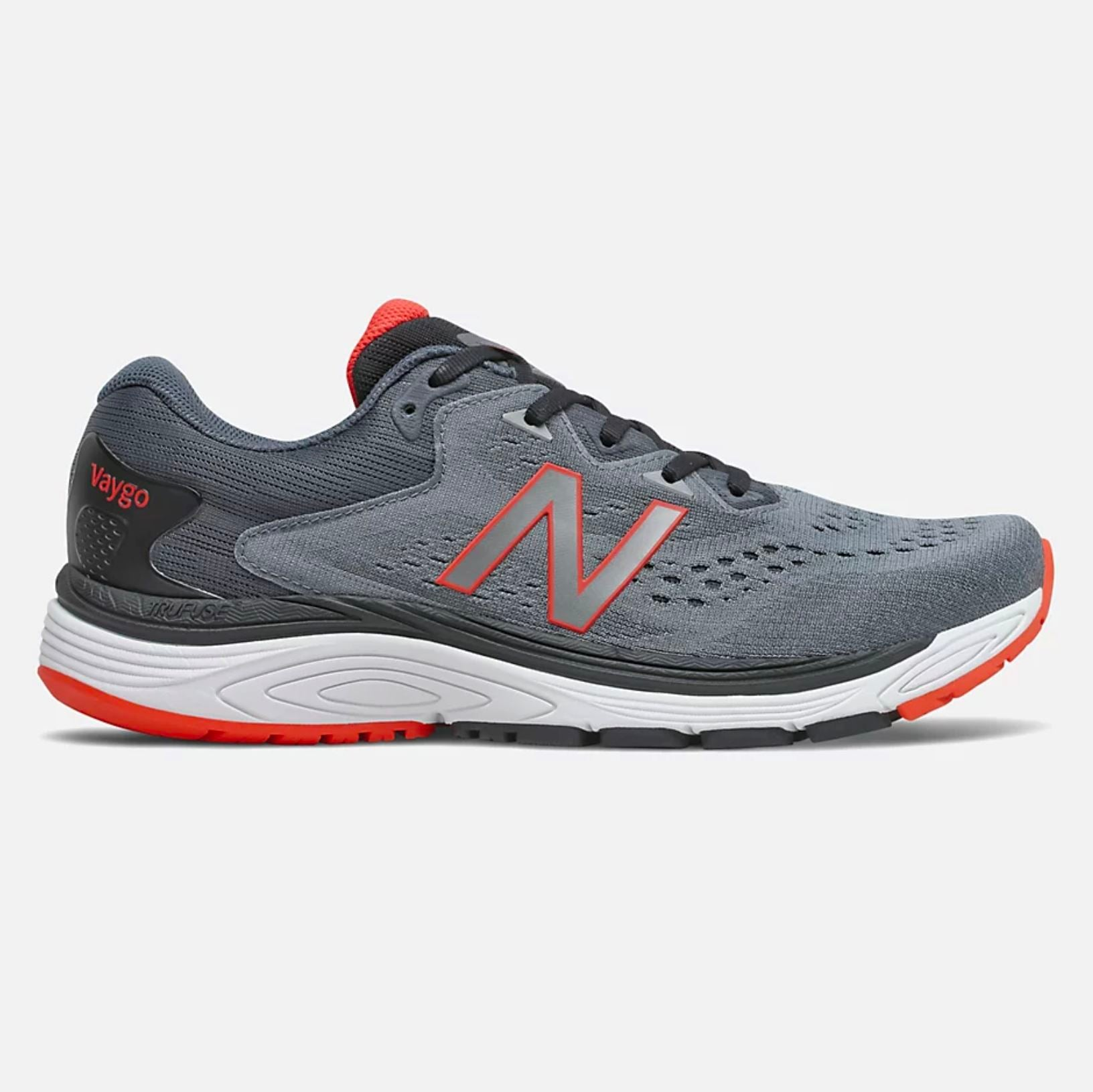New Balance Men's Vaygo Running Shoe - Black/Ghost Pepper SP-Footwear-Mens New Balance