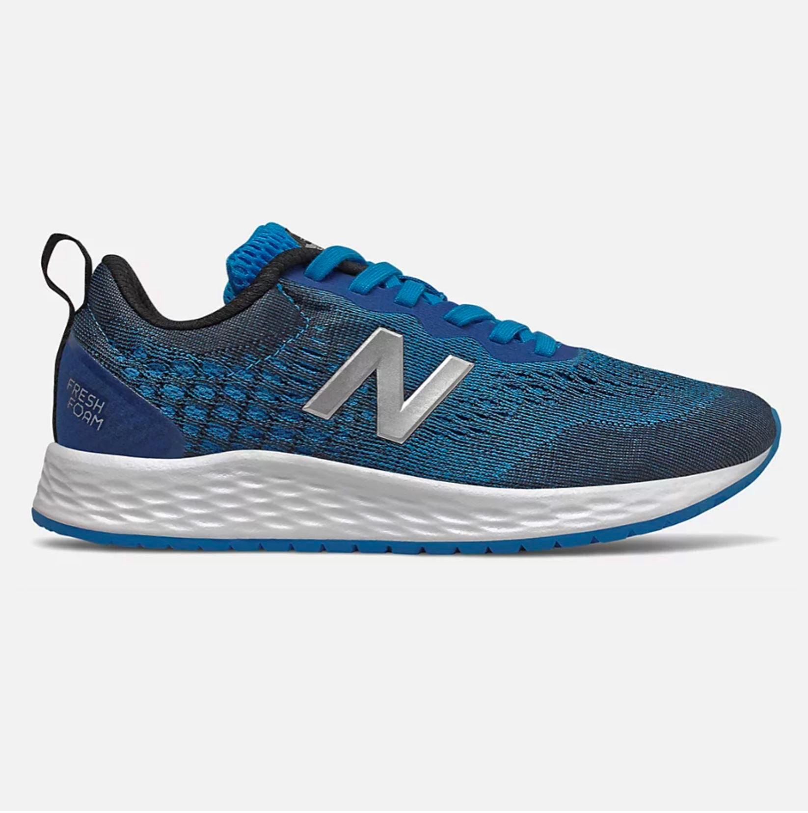 New Balance Kid's Fresh Foam Arishi v2 Running Shoe - Vision Blue/Natural Indigo/Neo Mint SP-Footwear-Kids New Balance