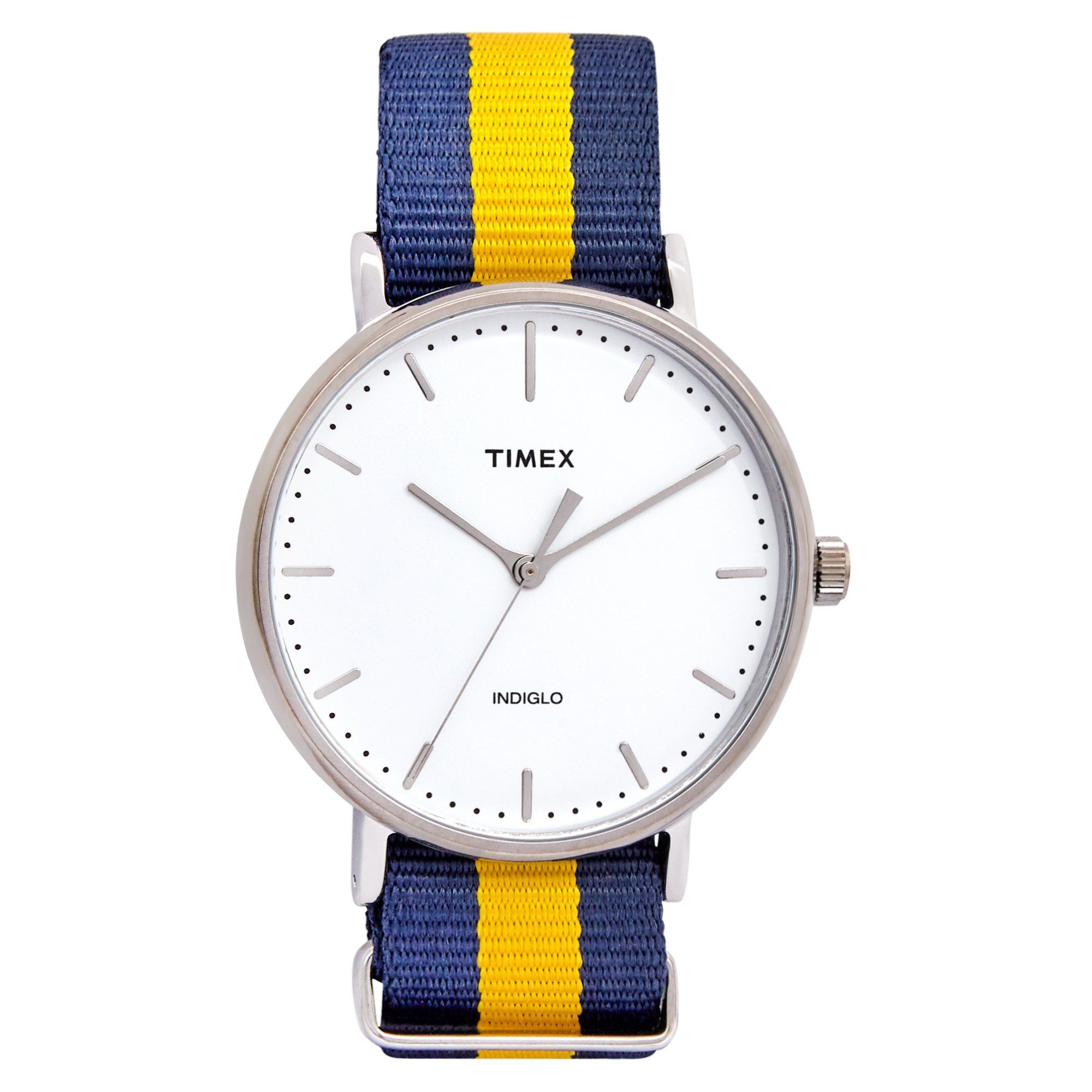 Timex Weekender Fairfield 41mm Blue/Yellow Watches Isbister & Co Wholesale