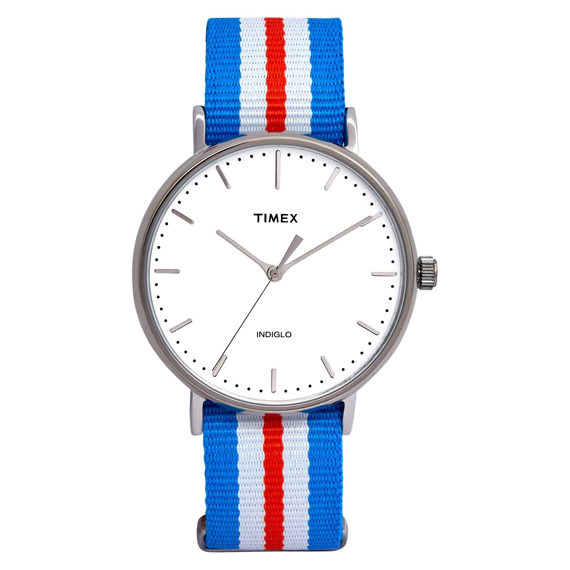 Timex Weekender Fairfield 41mm Orange/Blue Watches Isbister & Co Wholesale